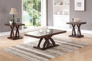 A&O UP-F3100-3PC COFFEE TABLE SET