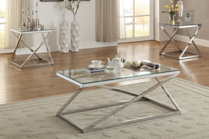 A&O UP-F3114-3PC Coffee Table Set