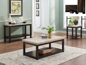 A&O CROWN4274 3PC Coffee Table Set
